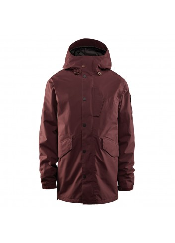 32 Lodger Jacket - Burgundy