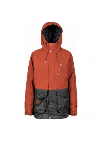 L1 Legacy Jacket - Rust/Black_1000348