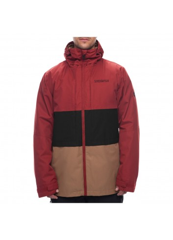 686 Smarty 3-in-1 Form Jacket - Rusty Red_1000460