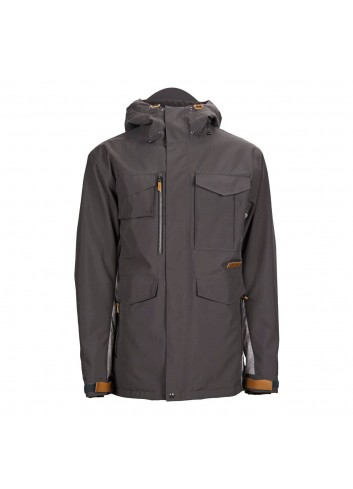 Sessions Ransack Shell Jacket - Grey/Concrete_1000784