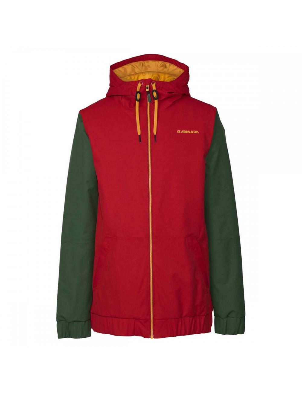 Armada Baxter Insulateds Jacket - Red Chilli_1001055