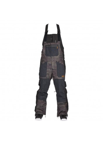 Sessions Bleach Bib Pant - Dark Camo_10825