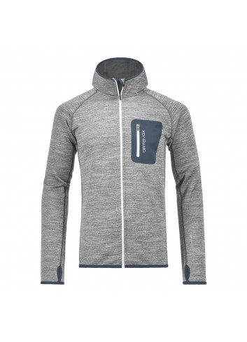 Ortovox Fleece Melange Hoodie - Grey Blend_10922