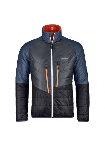 Ortovox Piz Boval Jacket - Crazy Orange Blend_10925