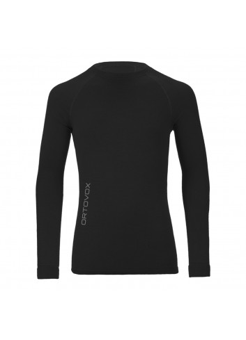 Ortovox Merino Competition Long Sleeve - Black_10928