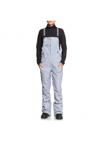 DC Collective Bib Pant - Light Blue_10933