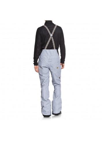 DC Collective Bib Pant - Light Blue_10934