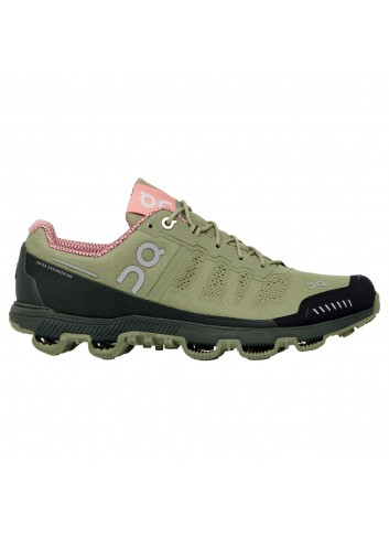 ON Cloudventure Shoe - Reseda/Rose_10984