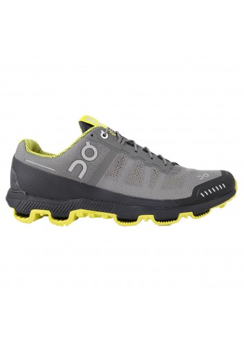 ON Cloudventure Shoe - Grey/Sulphur_10992