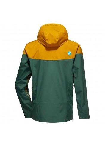 Pyua Gorge-Y Jacket - Golden Brown/Pine_10999
