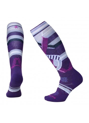 Smartwool Wms PhD Ski Medium Socken - Mtn Purple_11010