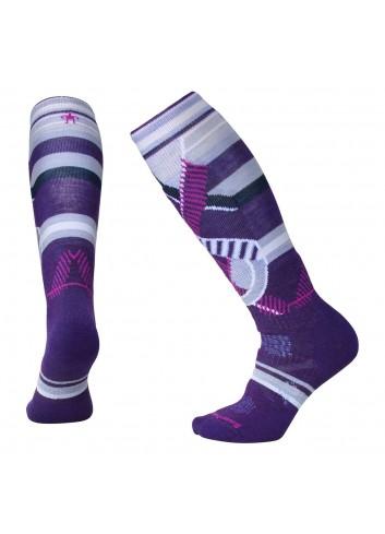 Smartwool Wms PhD Ski Medium Socken - Mtn Purple_11010