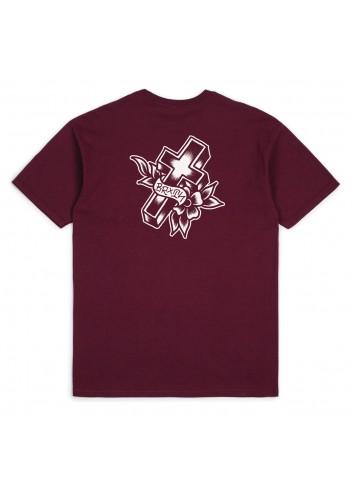 Brixton Cruz Standart Shirt - Burgundy_11084