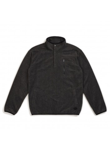 Brixton Higgins Pullover - Heather Black_11086