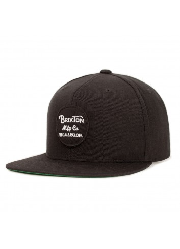 Brixton Wheeler Cap - Black_11102