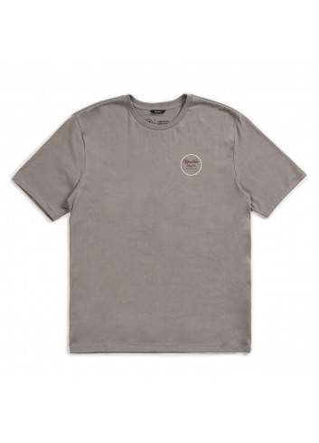 Brixton Wheeler II Shirt - Cement_11105