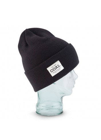 Coal The Uniform Beanie - Soild Black_11209