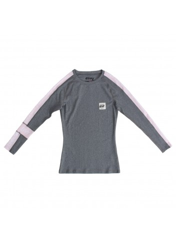Eivy Wedge Training  L/S - Grey Melange_11239