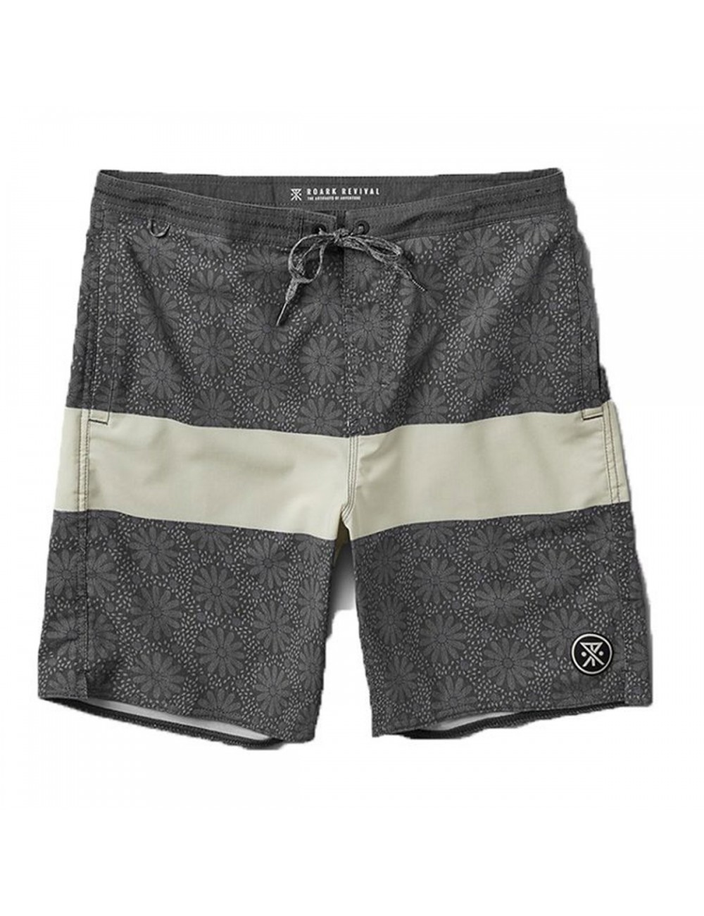 Roark Chiller Sharrons Boardshort - Black_11244