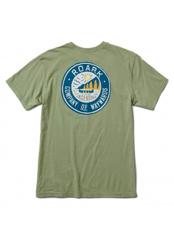 Roark Camp Huapi Shirt - Army Green_11246