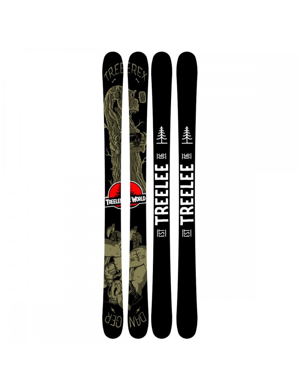 TreeLee World 170cm Ski_11253