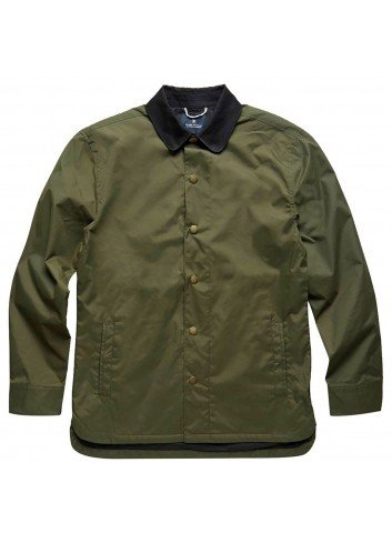 Roark Officer Jacket - Army Green_11273