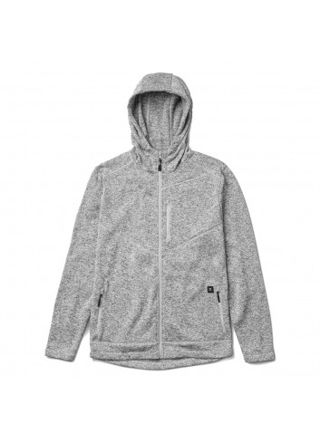 Roark Roadrunner Zip Fleece - Grey_11282