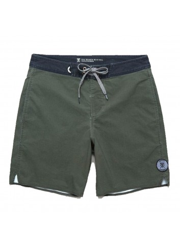 Roark Wellworn Boardshort - Army Green_11292