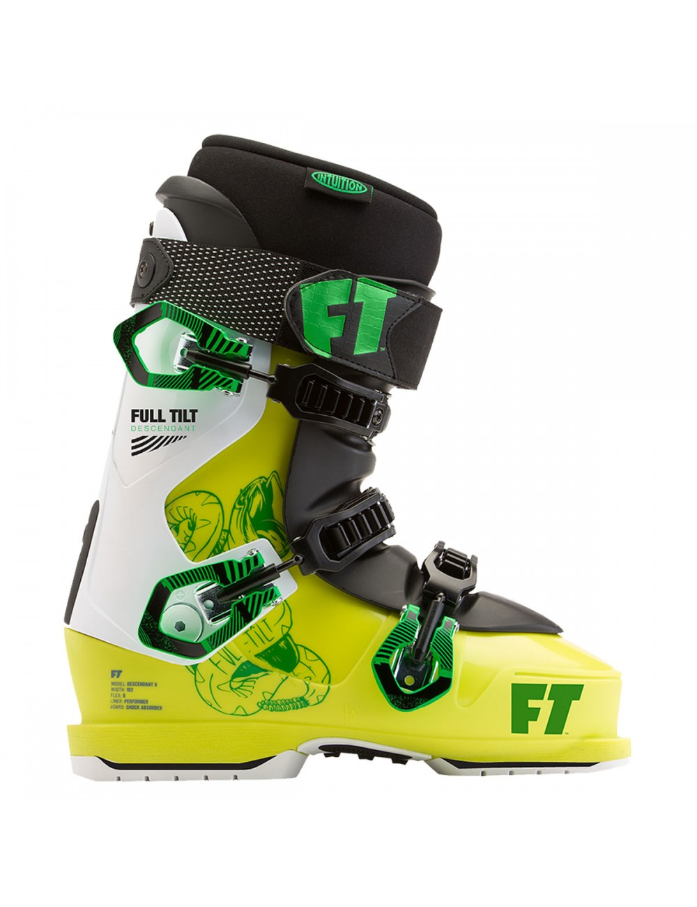 Full Tilt Descendant 6 Boot - Yellow/Gree_11313