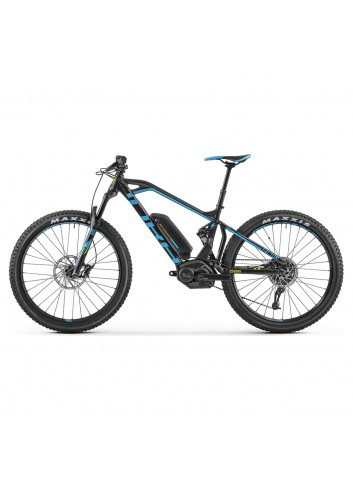 Mondraker e-Factor + Bike - Black/Blue_11371