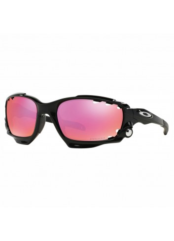 Oakley Racing Jacket Sunglasses - Black_11404