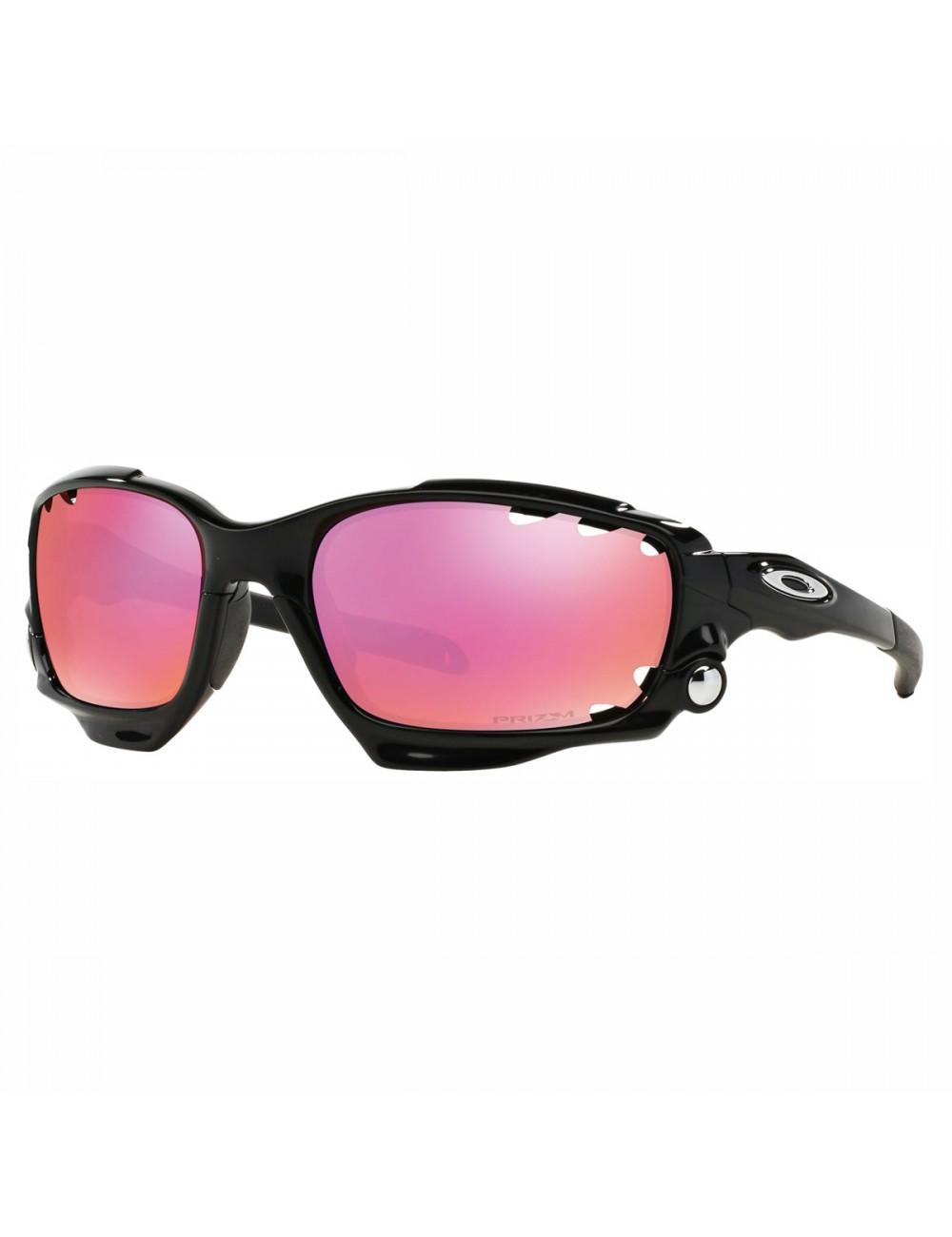 Oakley Racing Jacket Sunglasses - Black_11404