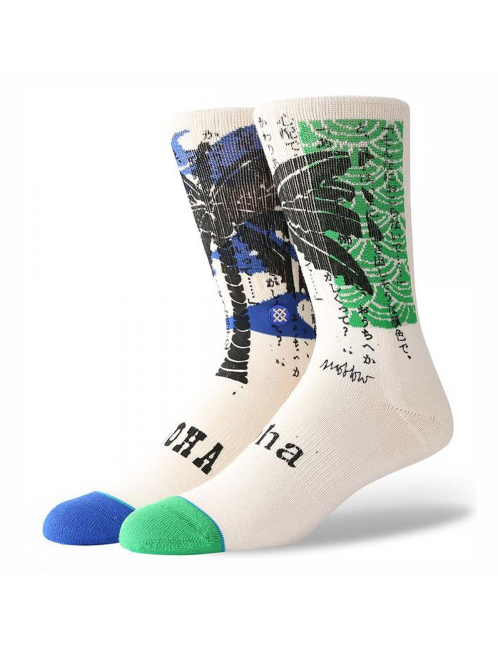Stance Oblow Palm Socken - Natural_11420