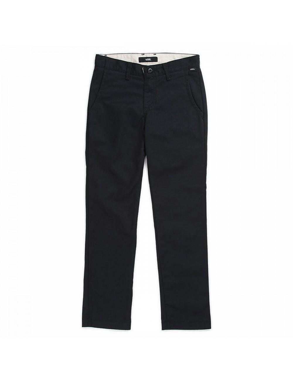 Vans Authentic Chino Pants - Black_11446