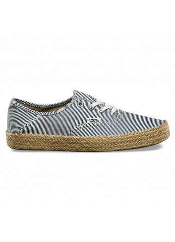 Vans Wms Authentic Shoe - Stripes Navy_11448