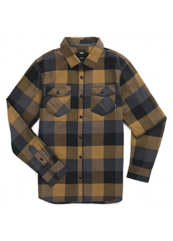 Vans Box Flannel - Dirt/Black_11453