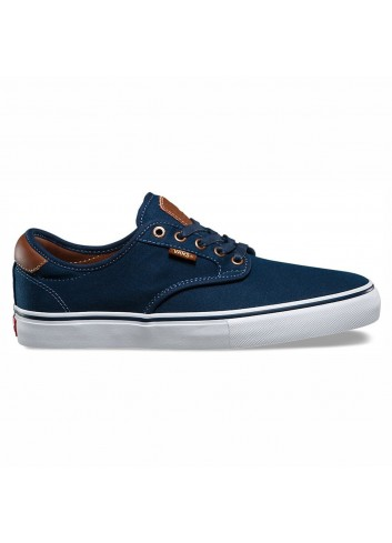 Vans Chima Ferguson Pro Shoes - Brushed Twill Blue_11455