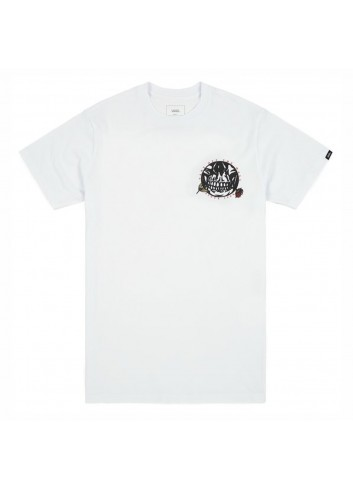 Vans Pushing Up Shirt - Daisie White_11476