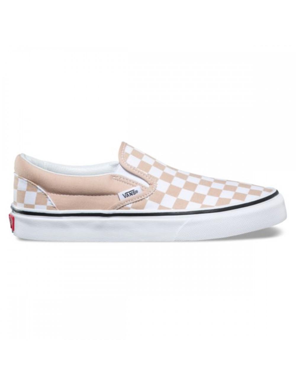 Vans Wms Classic Slip-On Shoe - Checkerboard_11479