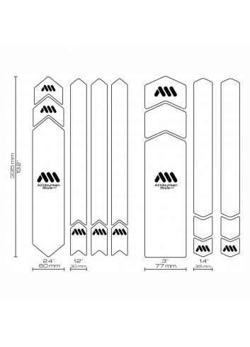 All-Mountain Frame Guard XXL - Clear_11525