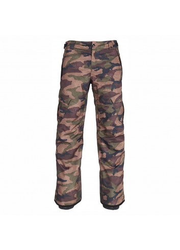 686 Infinity Insulated Cargo Pant - Dark Camo_11582