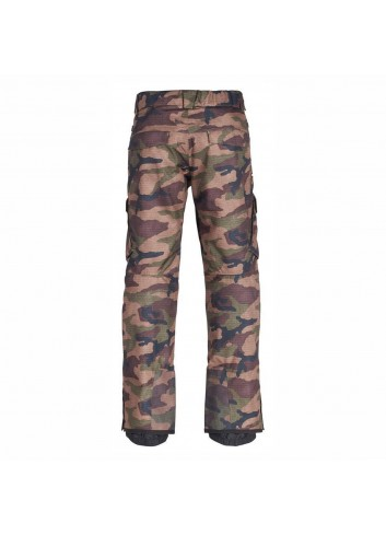 686 Infinity Insulated Cargo Pant - Dark Camo_11583
