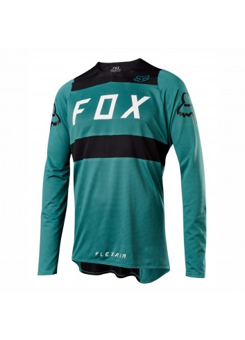Fox Flexair Shirt - Green Black_11639