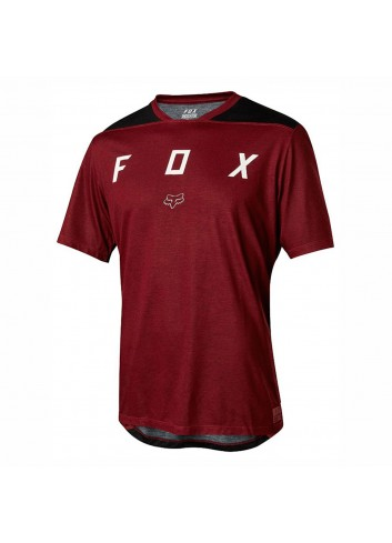 Fox Indicator s/s Shirt - Mash Dark Red_11641