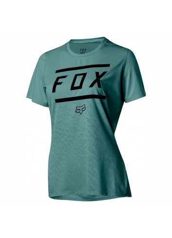 Fox Wms Ripley Shirt - Bars Pine_11650