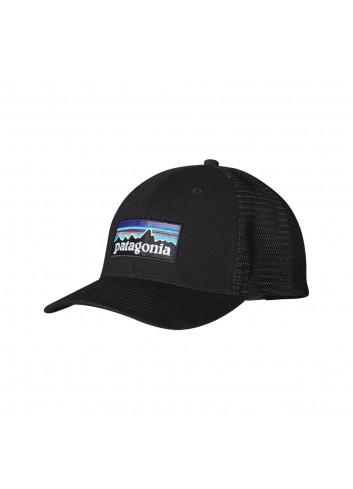 Patagonia P-6 Logo Trucker Hat - Black_11777