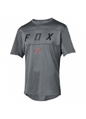 Fox Flexair S/S Moth Shirt - Grey_11870