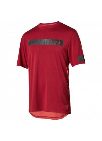 Fox Ranger S/S Shirt - Bar/Red_11872