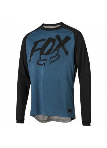 Fox Ranger D-R L/S  Jersey - Blue_11876