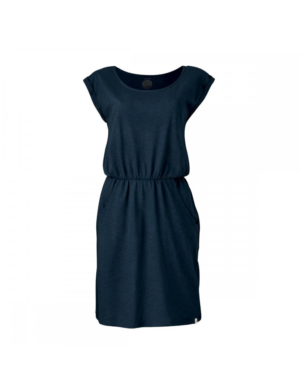 ZRCL Basic Dress - Blue Slub_11981
